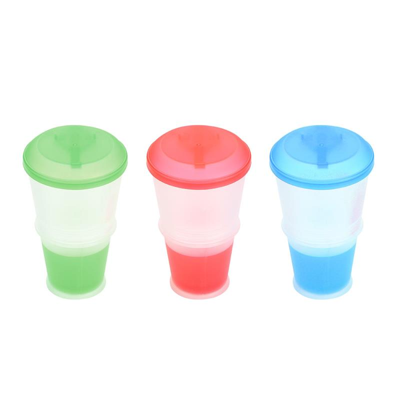 Breakfast Cup Oatmeal Cup Cereal PP Snack Cup With Lid Fold Able Spoon Food Container Keep Milk Cold|Tumblers| |  - title=