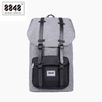8848 Fashion Men Backpack Large Capacity Gray Travel Bag Real Waterproof Oxford Material Pattern Backpack Backpacking S15005 13