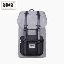 8848 Mode Mannen Rugzak Grote Capaciteit Grijs Reistas Real Waterdicht Oxford Materiaal Patroon Rugzak Backpacken S15005 13