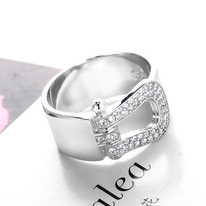 Slovecabin New Collection Original 925-Sterling-Silver Wedding Ring With Clear CZ For Women Top Quality Fine Jewelry Vintage