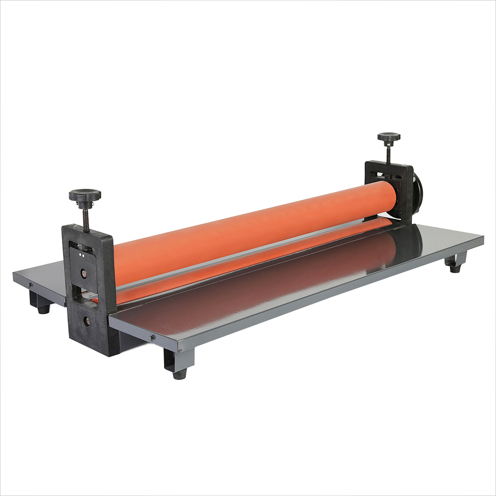 Manual Cold Roll Mount Laminator 29.5 inch Laminating Machine 750mm fm 360 paper laminating machine students card worker card office file laminator steel roll laminating machine
