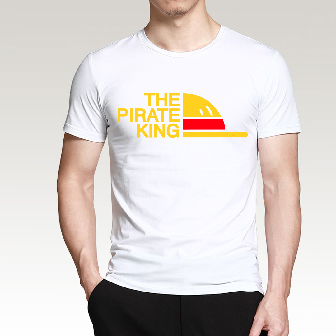 Japan Anime One Piece The Pirate King T Shirt Men 2019 Summer Luffy Casual Men 39 s T Shirt Harajuku Brand Clothing Adult Top S XXL in T Shirts from Men 39 s Clothing