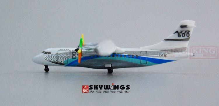 ФОТО HG8539 ATR Hogan original plant 42-600 1:500 ATR commercial jetliners plane model hobby