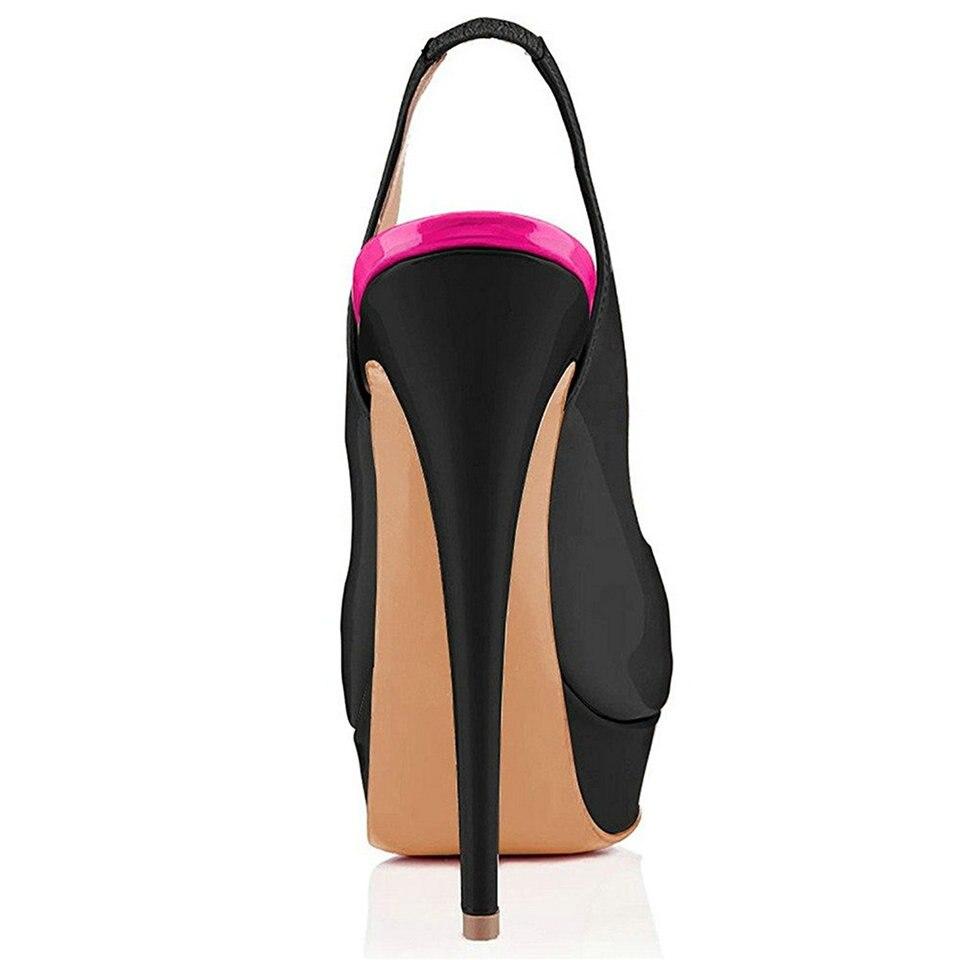 AIWEIYi 2018 Summer Autumn Open Toe Shoes Woman Stiletto High Heels Fashion Platform Wedding Shoes Woman Dress Party Pumps