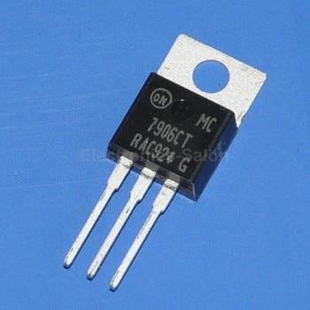 ( 50 pcs/lot ) 7906 IC, Negative 6V Voltage Regulator, MC7906CT. фото
