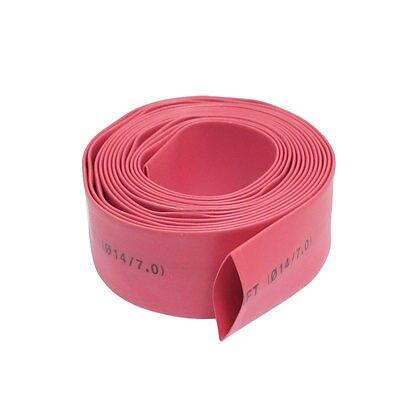 2m 14mm Diameter Red  Heat Heat Shrinkable Tube Shrink ...
