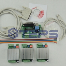 CNC Router 3 Axis Kit,TB6600 3 Axis Stepper Motor Driver Con