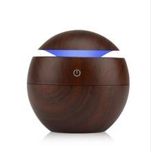 купить 130ml USB Aroma Essential Oil Diffuser Cute Ultrasonic Cool Mist Humidifier Air Purifier Change LED Night light for Office Home по цене 463.29 рублей