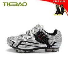 Tiebao обувь для горного велоспорта Мужская самоблокирующаяся велосипедная обувь гоночная Спортивная велосипедная Обувь Zapatillas Кроссовки Ciclismo wo мужские