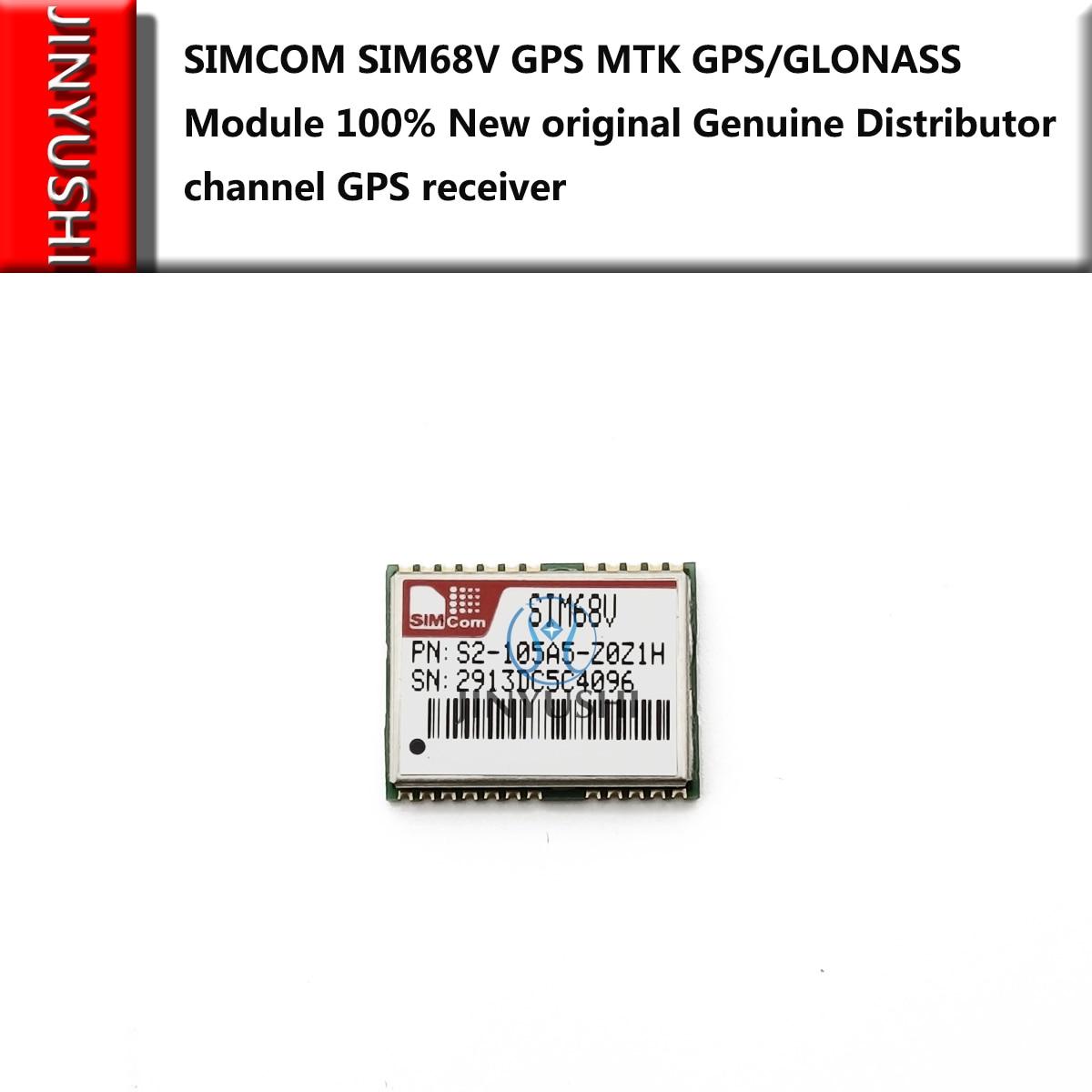 2pcs  SIM68V SIMCOM GPS MTK GPS/GLONASS Module 100% New Original Genuine Distributor Channel GPS Receiver Free Shipping In Stock