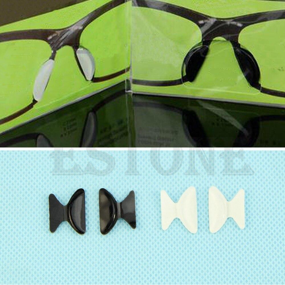 Heißer Silikon Rutschfeste Weiche Nasenpads Für Brillen Sonnenbrille Brille Geschenk