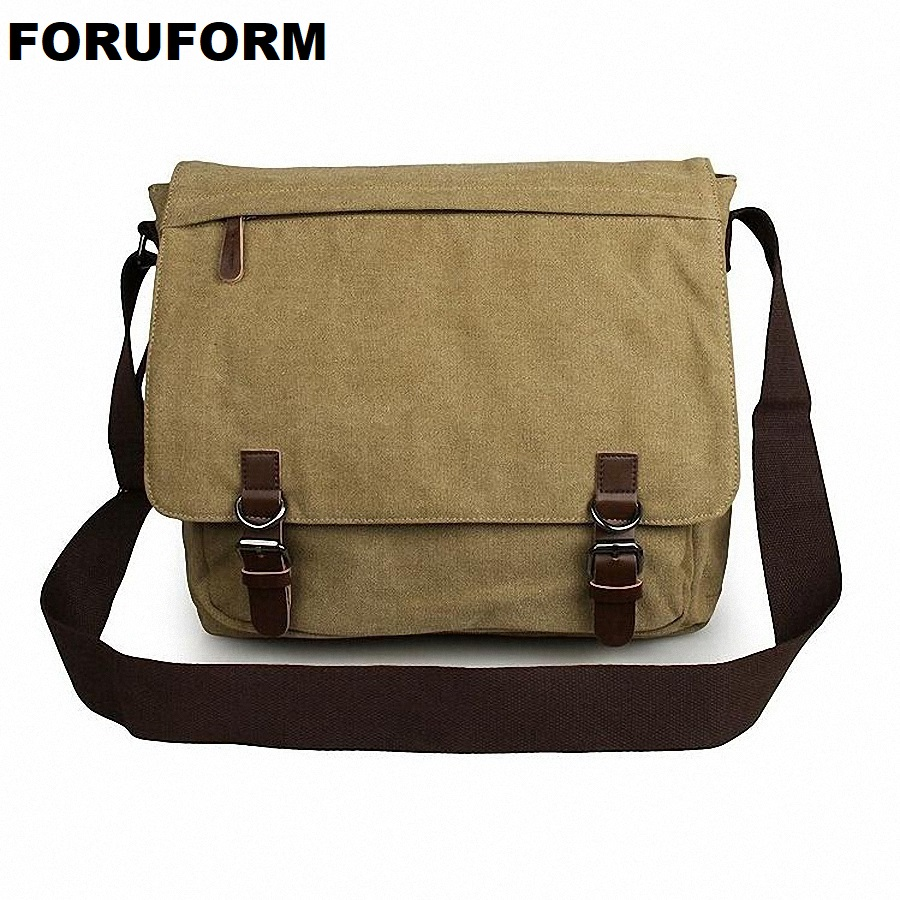 Man Casual Laptop Briefcase Vintage Canvas Bags Men's Crossbody Bag Shoulder Men Messenger Bag Travel Bag Free Shipping LI-1300 augur 2017 canvas leather crossbody bag men military army vintage messenger bags shoulder bag casual travel school bags