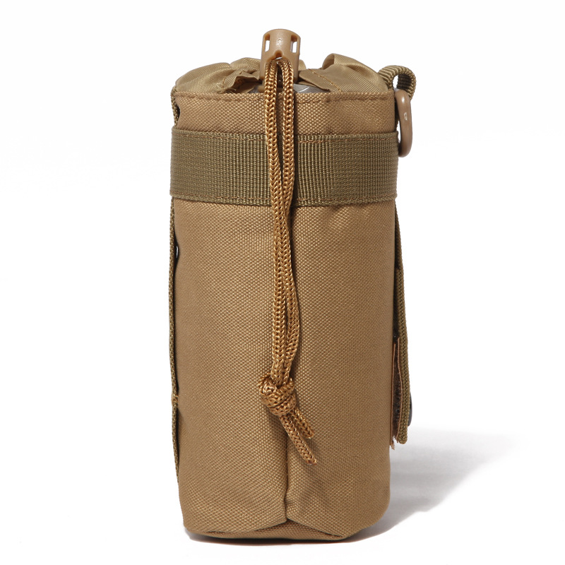 Tactical Camouflage Thermos Water Bottle Cover Bag Outdoor Sports Molle Kettle Bag