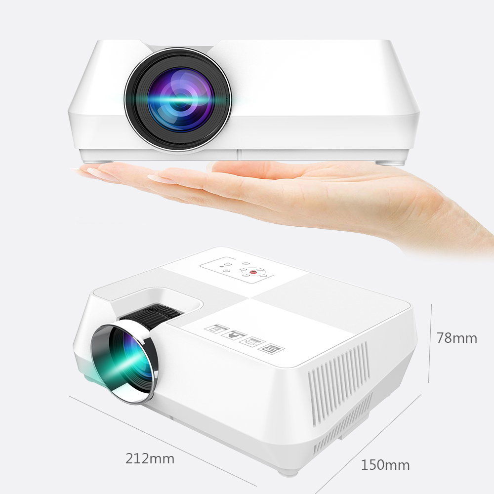 VIVICINE V8 Mini LED Projector (3)
