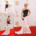 Anna Gunn Emmys 2013 Red Carpet Mermaid Lace Long Celebrity Gown Evening Dress CD051