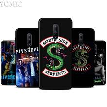 American tv riverdale Jughead Jones Silicone Case for Oneplus 7 7Pro 5T 6 6T Black Soft Case for Oneplus 7 7 Pro TPU Phone Cover