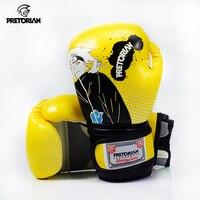 Pretorian Brand 7 15 Years Kids MMA Gloves For Children Boxing Boxeo Gloves Muay Thai Gloves