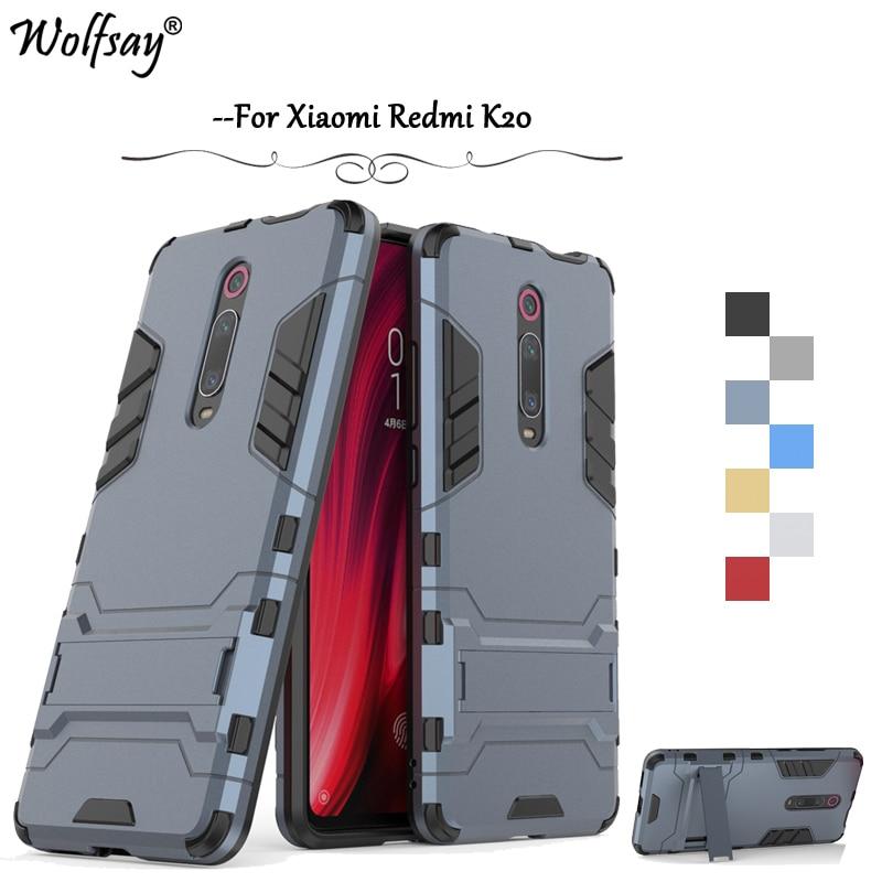 Xiaomi Redmi K20 Case Luxury Slim Armor Rubber Hard PC Phone Bumper For Xiaomi Redmi K20 Back Cover For Xiaomi Redmi K20 Fundas
