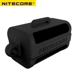Image 2 - Nitecore NBM40ซิลิคอนกล่องเก็บแบบพกพาแบตเตอรี่18650แบตเตอรี่