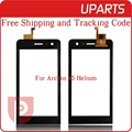 "Original 4.5"" For Archos 40b Titanium Touch Screen Digitizer Sensor Front Glass Lens Black Free shipping+Tracking Code"