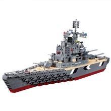 Военные Бисмарк линкор 82012 строительные блоки устанавливает совместимо с Leping корабль Строительного Кирпича Образовательные Хобби Игрушки