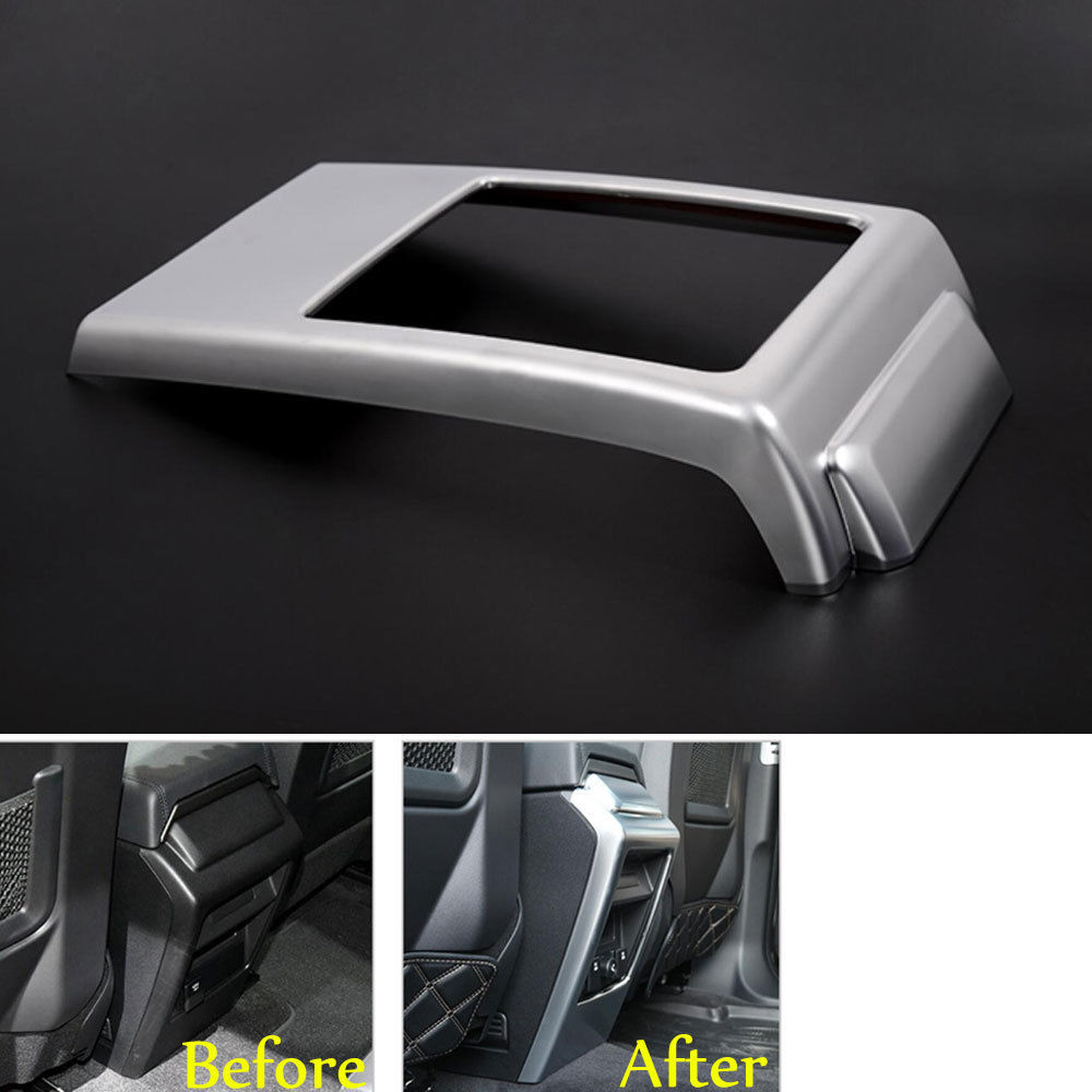 1pcs ABS Car Console Armrest Storage Box Rear Panel Cover Trim For land rover Discovery Sport 2015 2016 automobiles accessory накладные наушники sennheiser momentum m2 oei black