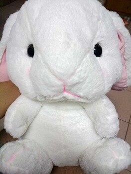 Lindo Lop 40cm conejo Mochila De Lolita blanco Conejito de peluche Cosplay dentro de princesa bolso tierno Loppy Bunny