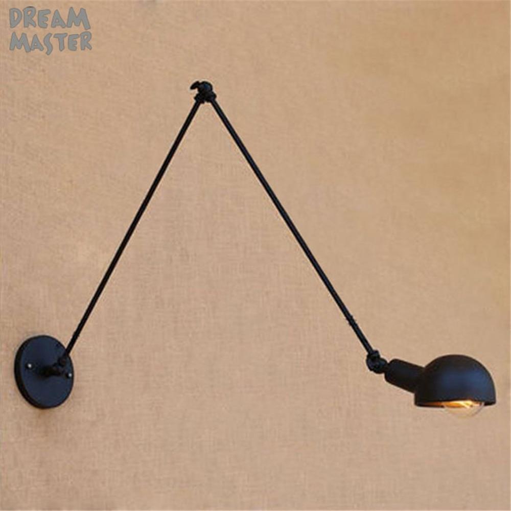 Loft Industrial brazo de oscilación largo ajustable Lámpara de - Iluminación interior - foto 6