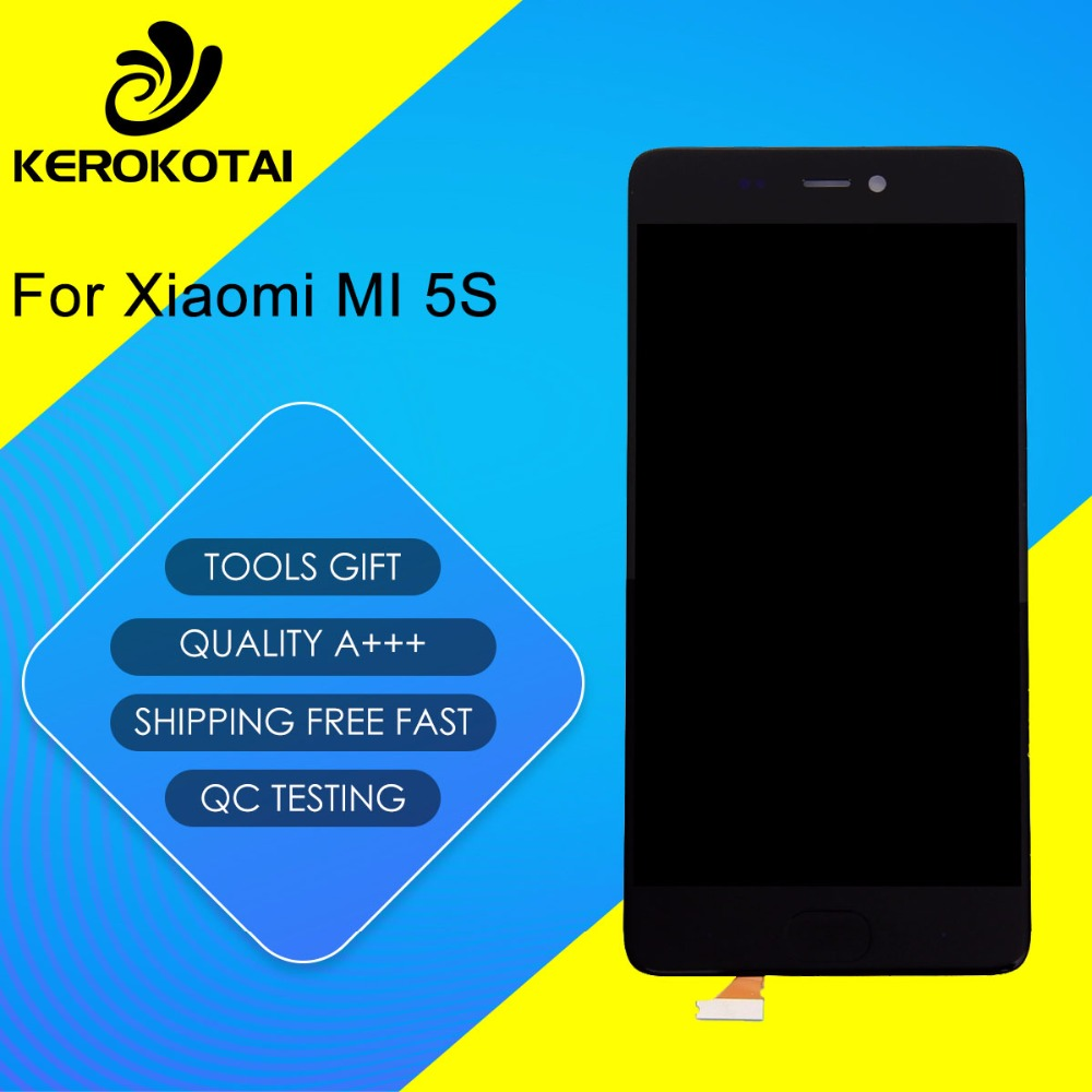 FOR Xiaomi 5S 100% Tested Good Quality LCD Display Touch Screen Digitizer Full Assembly MI 5S LCD AssemblyFOR Xiaomi 5S 100% Tested Good Quality LCD Display Touch Screen Digitizer Full Assembly MI 5S LCD Assembly
