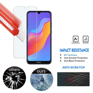 Image 4 - 5Pcs Tempered Glass For Huawei Honor 8A Screen Protector 9H 2.5D Phone On Protective Glass For Huawei Honor 8A Glass