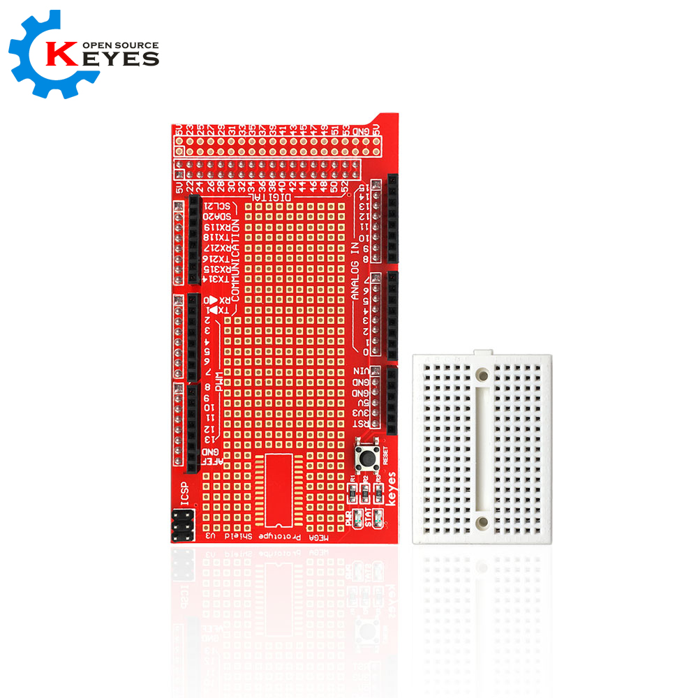 Keyes Mega Protoshield Prototype Expansion Board V3 For Arduino Microsd Card Breakout Buildcircuit Breadboard In Home Automation Modules From Consumer Electronics On Alibaba