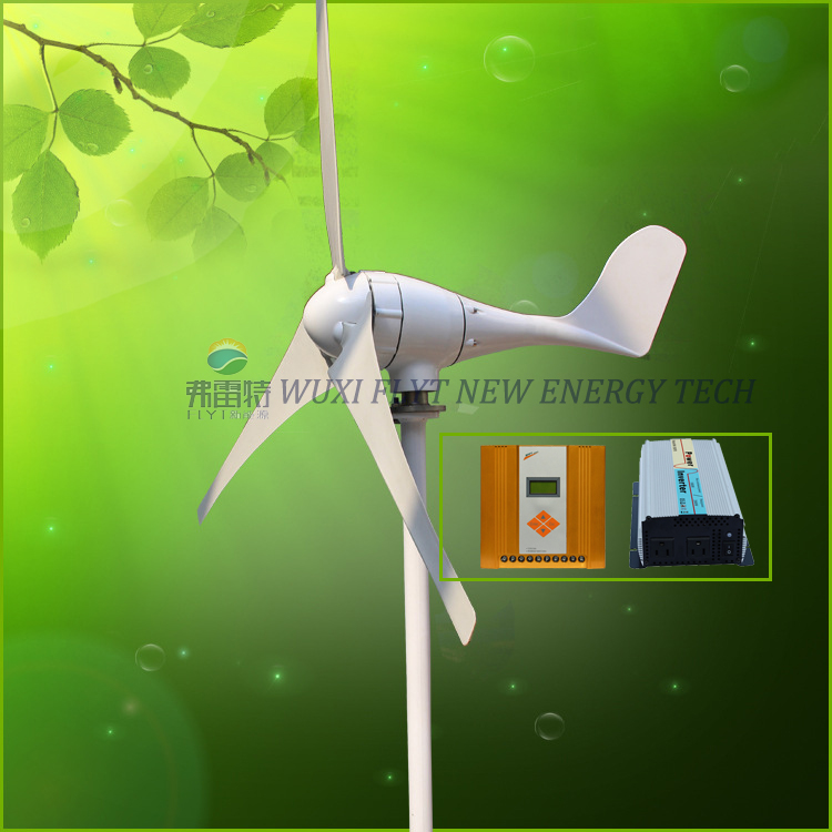 700w 12v 24v 48V wind turbine generator with MPPT controller and 1000w pure sine wave inverter for off grid system 400w wind generator new brand wind turbine come with wind controller 600w off grid pure sine wave inverter