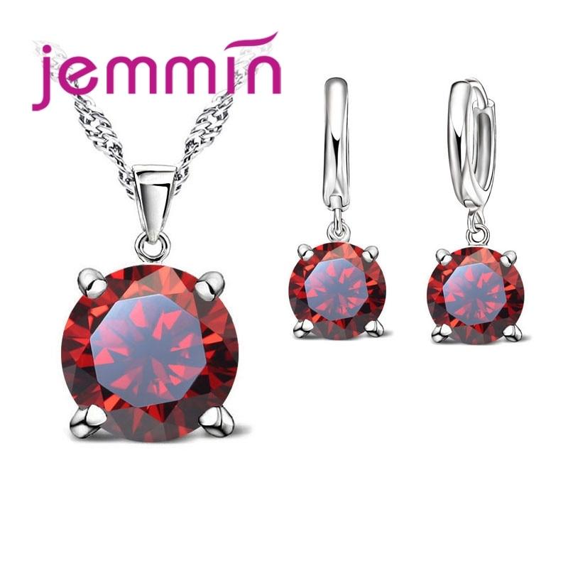 Jemmin Neue Ankunft! 925 Sterling Silber Ohrringe Mit Shinning Rose Und Große Perle Ohrringe Brincos Für Frauen Ohrringe