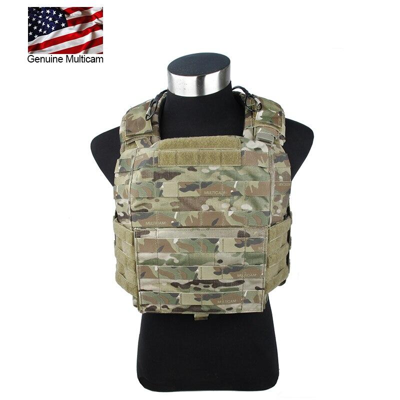 Multicam CAC  Tactical Vest With EVA Plate Genuine Multicam Carrier Tactical Chest Vest
