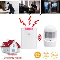 Nowy bezprzewodowy podjazd alarmowy system ostrzegania bezpieczeństwo w domu garaż rzucić czujnik ruchu PIR w Czujnik i detektor od Bezpieczeństwo i ochrona na
