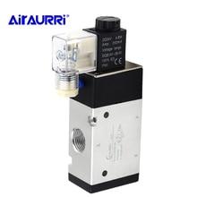Pneumatic valve 3V410-15 solenoid valve normally open DC24V AC220V, 1/2