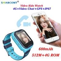 Reloj inteligente para niños 4G Wifi GPS Tracker Smartwatch para niños reloj 4g teléfono Video llamada reloj inteligente impermeable para niños PK Q50 Q90