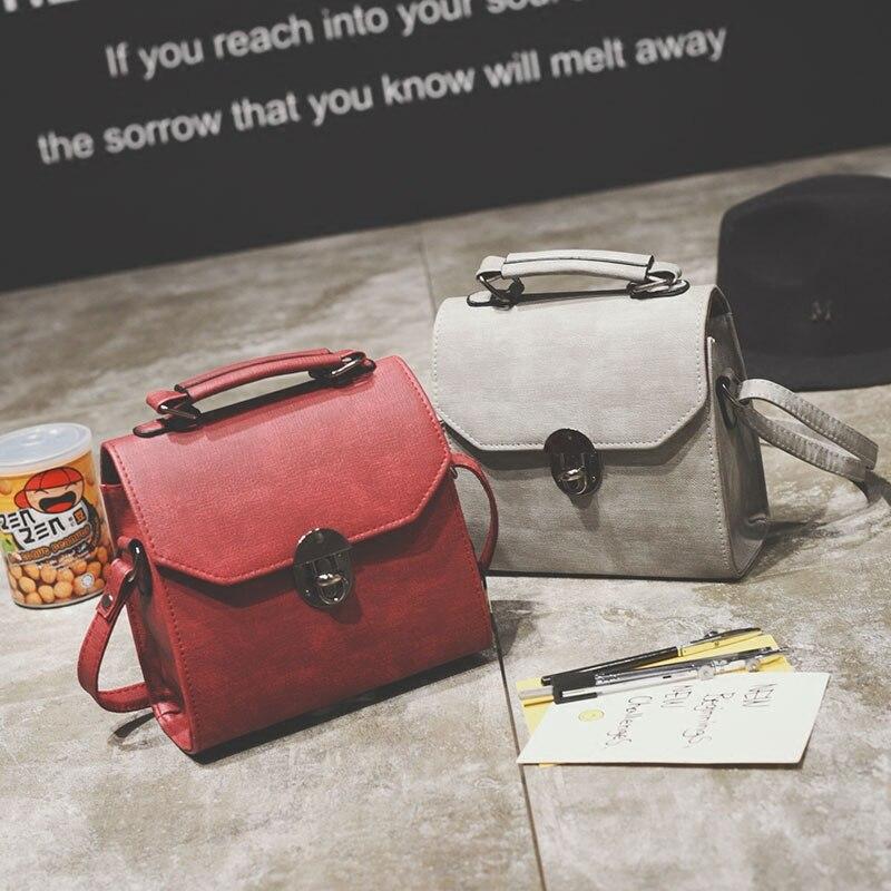 12ea93ba5507 Бесплатная доставка, 2019 новые женские мини-сумки, трендовая сумка- мессенджер, простая
