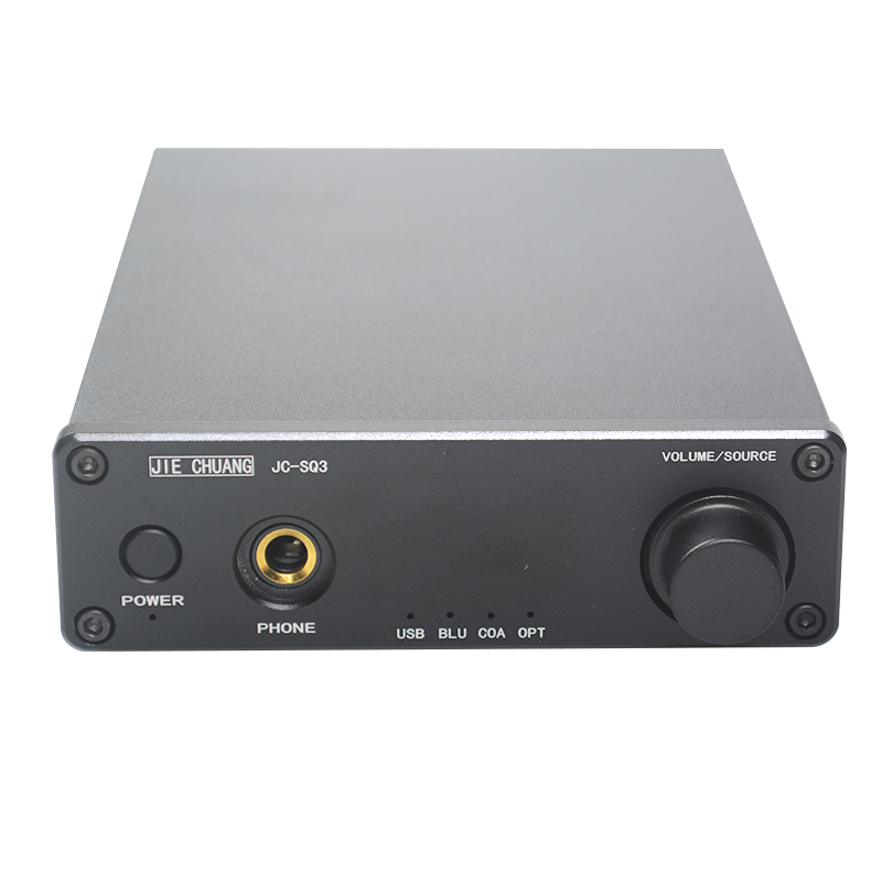 JIE CHUANG JC-AUDIO JC-SQ3 Bluetooth CSR8670 USB DAC AK4490 AUDIO Decoder Headphone Amplifiers TPA6120 APTX-HD цены