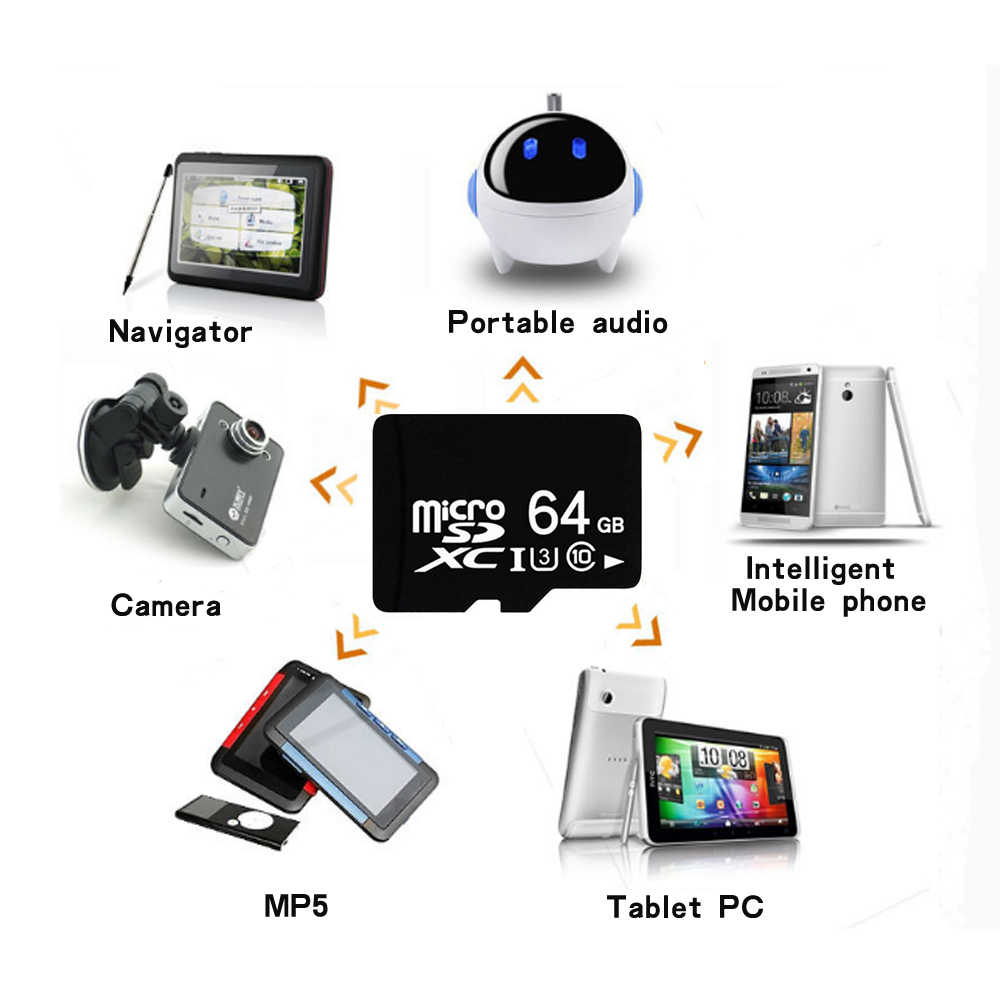 Карта Micro SD карты памяти TF 4 ГБ 8 ГБ для смартфонов камер и MP4 телефон Аксессуары