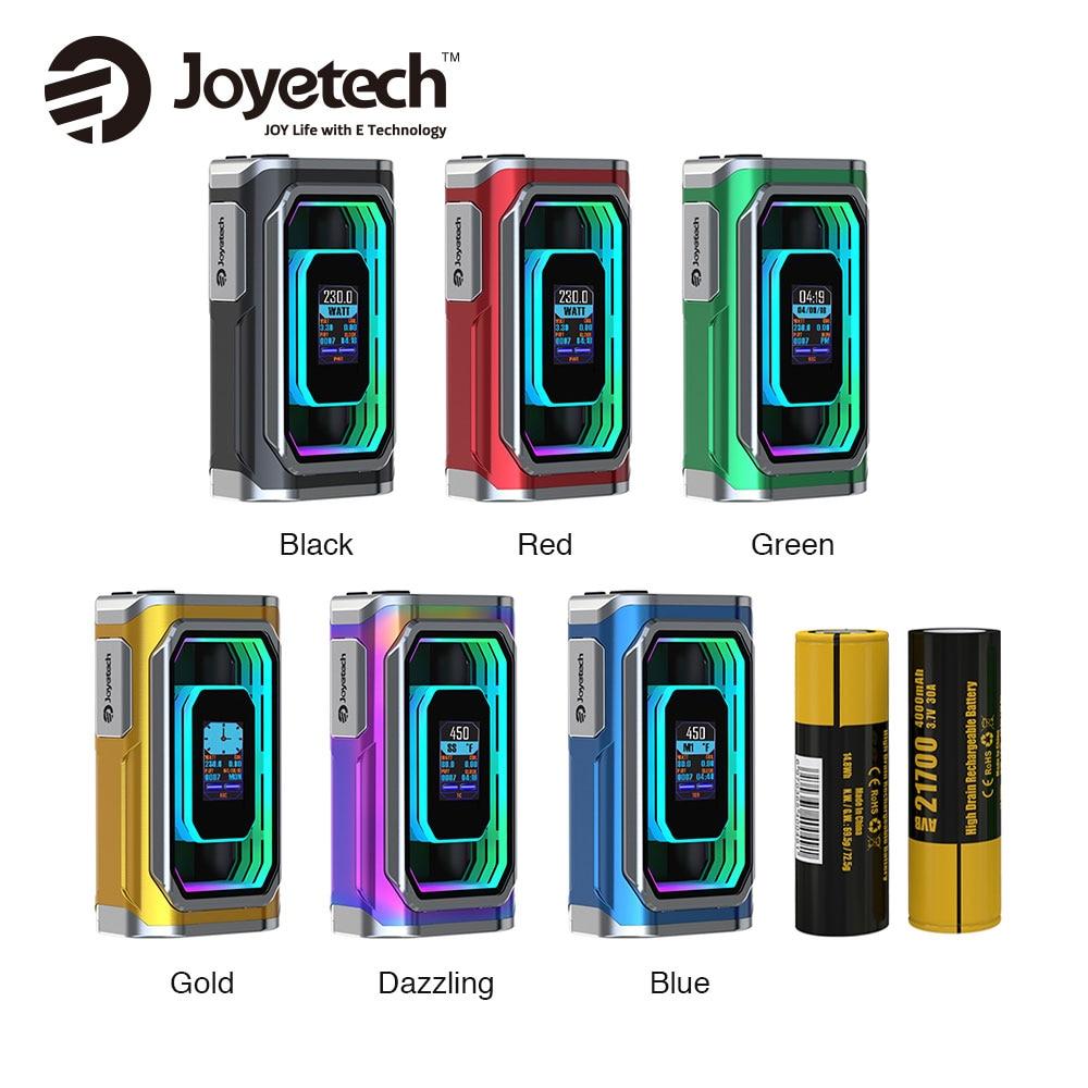 все цены на Original 230W Joyetech ESPION Infinite 21700 TC Box MOD 8000mAh By Dual 21700 Batteries E Cig Mod Support ProCore Conquer Tank онлайн