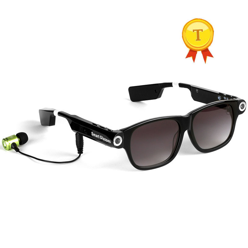 best selling original quality Bluetooth 4.0 Smart Glasses sunglasses With Headph