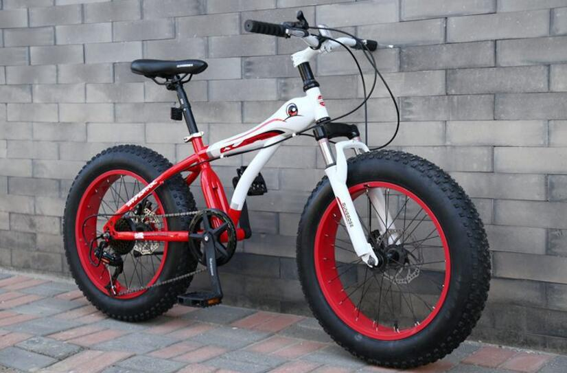 Bicicleta de nieve MTB de 20