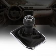 Shift gear ручка переключения Gaitor Boot Черный Анти пылезащитный чехол 5 скоростей Шестерня для VW Bora Golf 4 автомобиля внутренняя часть Шестерня ручка переключения Gaitor