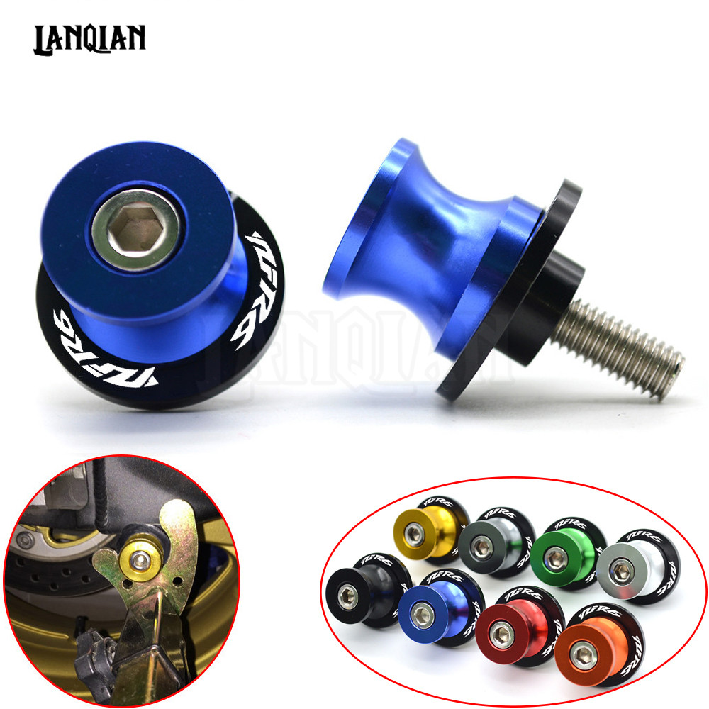 M6 For YAMAHA YZF R6 CNC Motorcycle Swingarm Spools Slider arm Stand Screws 1999 2000 2001 2002 2003 2004 2005 2006 2007 - 2018 bort bab 14ux2li fdk