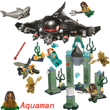 legoings Aquaman Super Heroes Iron Man Spiderman Batman Building Blocks Bricks Toys Marvel AVENGERS 4 endgame Infinity War