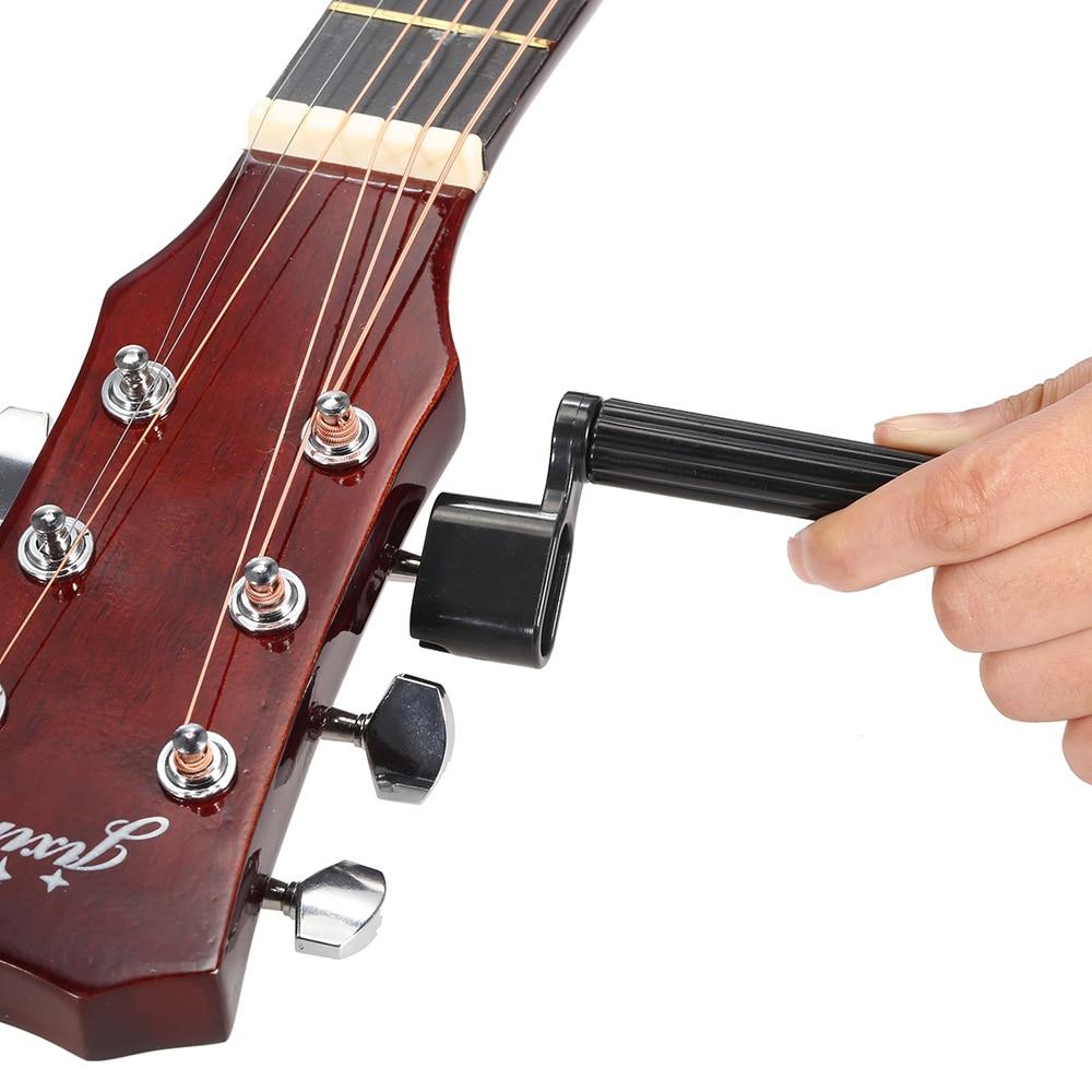 5 In 1 Guitar Accessories Kit Tool Set Setup String Winder Bridge