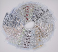 31 Colors SS3 SS10 Mix Sizes 1728PCS Bag Nails Art Crystal Glass Rhinestones For Nails 3D