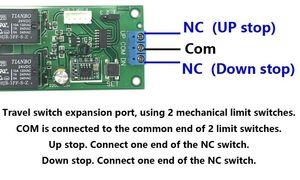 Image 4 - Kablosuz uzaktan kumanda anahtarı 433 mhz rf verici alıcı 18 v 24 v motor Ileri + Ters Dur direksiyon Denetleyici modülü