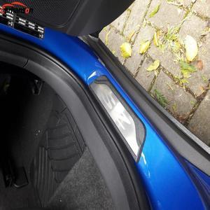 Image 5 - Auto Styling Styling Per Mg Zs 2017 2020 Accessori per Auto In Acciaio Inox Davanzale Del Portello Trim Dello Scuff Paltes Della Protezione Della Protezione adesivi per auto